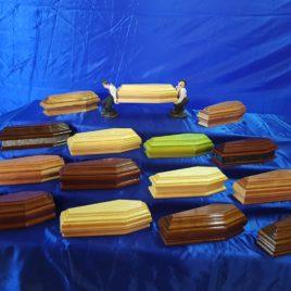 Cassettine in legno naturale miste 22 cm
